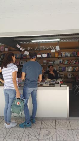 Firma Wilde Encadenado en la Feria del Libro Alicante 2018
