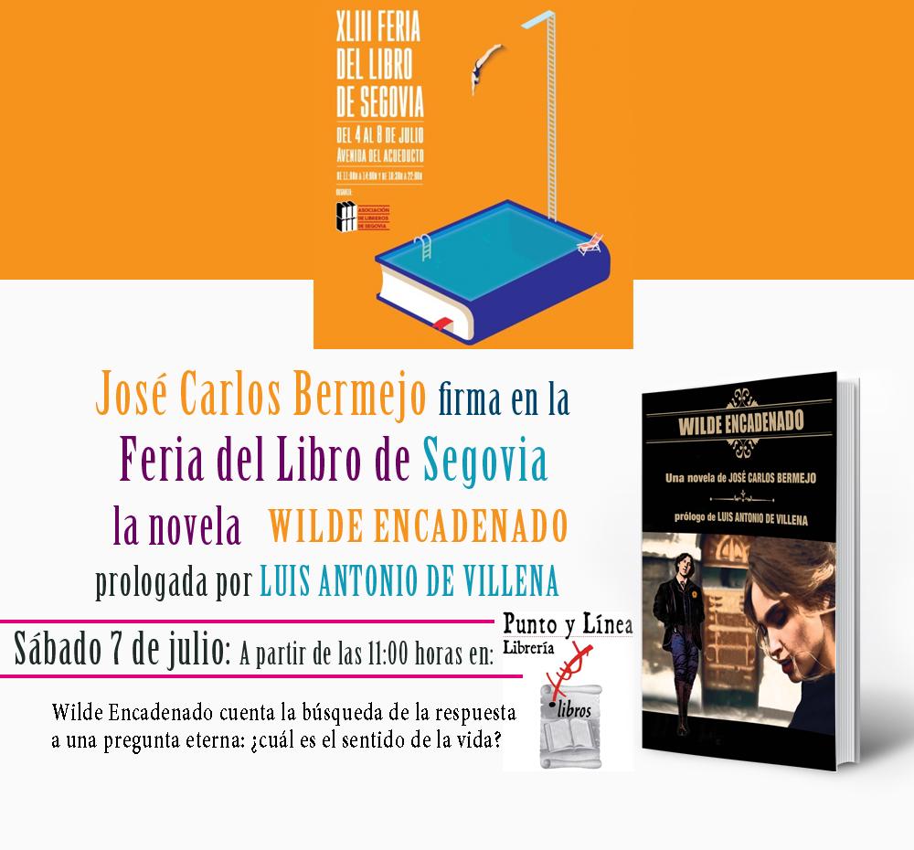 Cartel Feria del Libro de Segovia 2018
