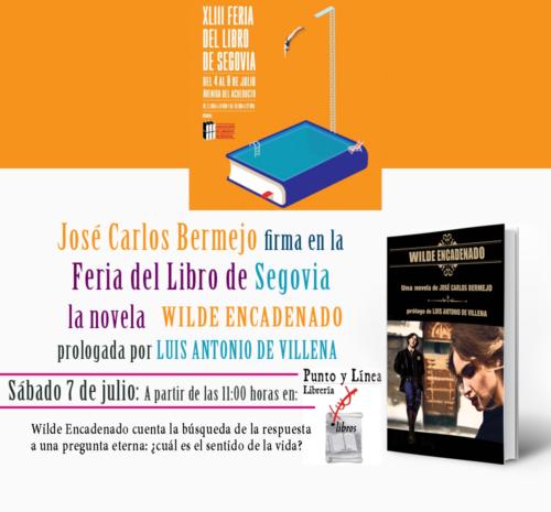 feria del libro de Segovia 2018