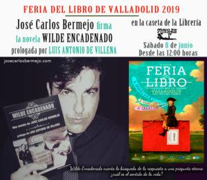Wilde Encadenado en la feria libro Valladolid 2019