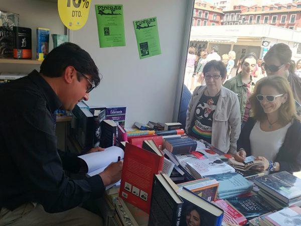 José Carlos Bermejo. Wilde Encadenado en la Feria del Libro.