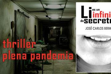 novela de intriga: thriller en pandemia