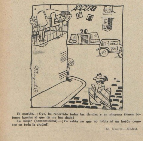 humor en la España de los años 30 del siglo XX