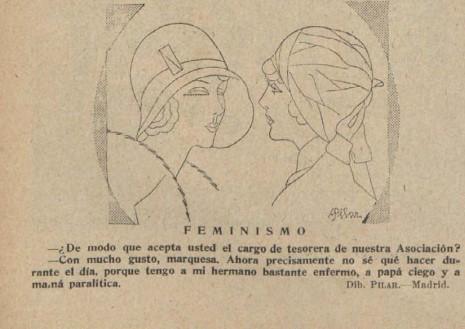 humor y feminismo en la España de los años 30 del siglo XX